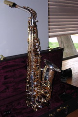 My new saxophone