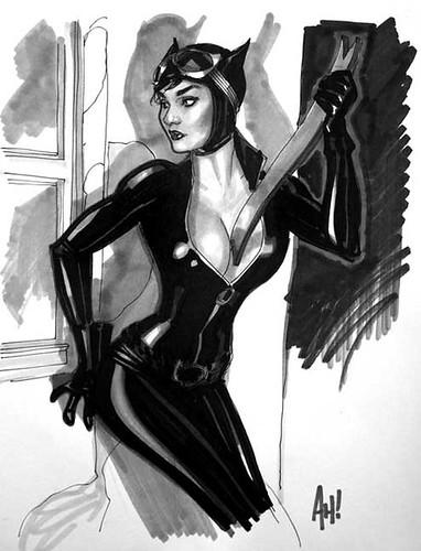 Armas de Mujer Gato (Adam Hughes)