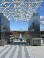 Outside the Udvar-Hazy NASM Annex
