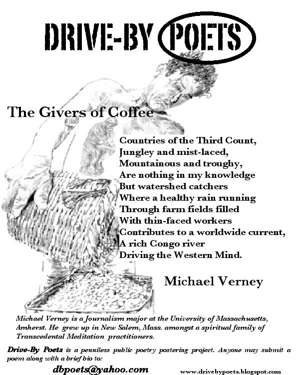 The Givers Of Coffee by Michael Verney