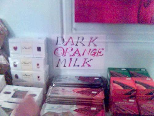 Dark Orange Milk
