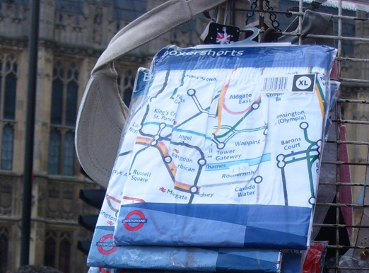 London Underground Boxer Shorts
