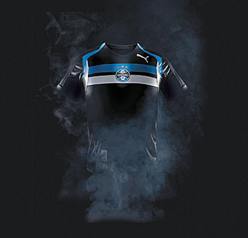 Camisa preta do Grêmio