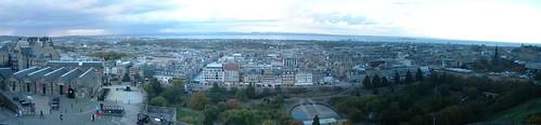 Dia 01- 05-Edimburgo - Vista desde el castillo (pano)