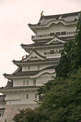 A picture of a japanese style castle from  toshihiko2001's flickr stream