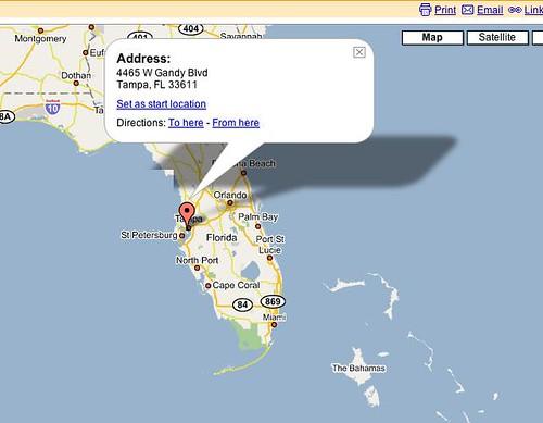 Momona, mi servidor en Florida