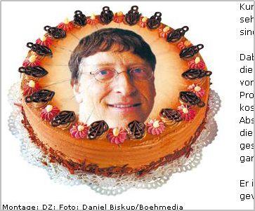 Bill Gates wird 50