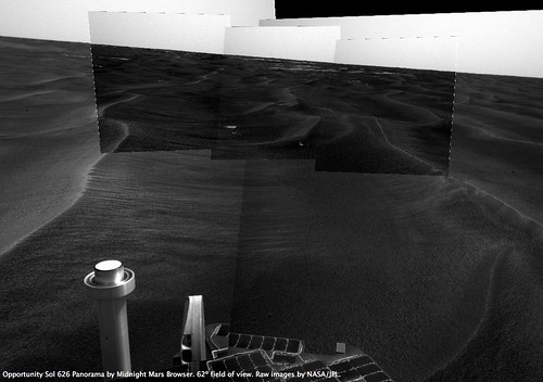 Opportunity Sol 626: Clear Shot!<br />