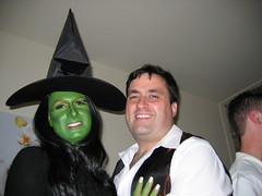 Elphaba and her dashing beau. Fiyero