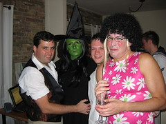 Fiyero, Elphaba, Doctor and Jan