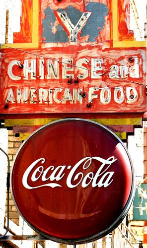 Chinese and American Food