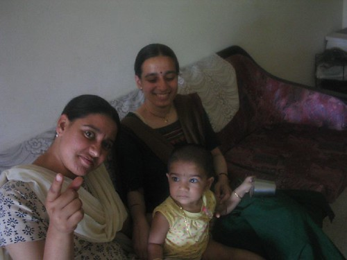 With Anju and Aparna atthais