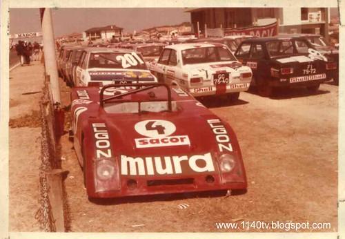 Corrida de carros - Miura