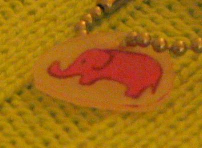 shrinky dink elephant