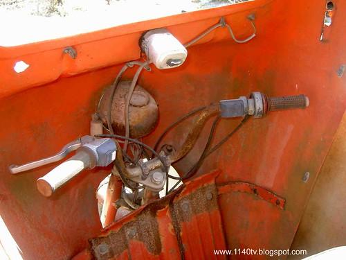 Famel triciclo - Volante
