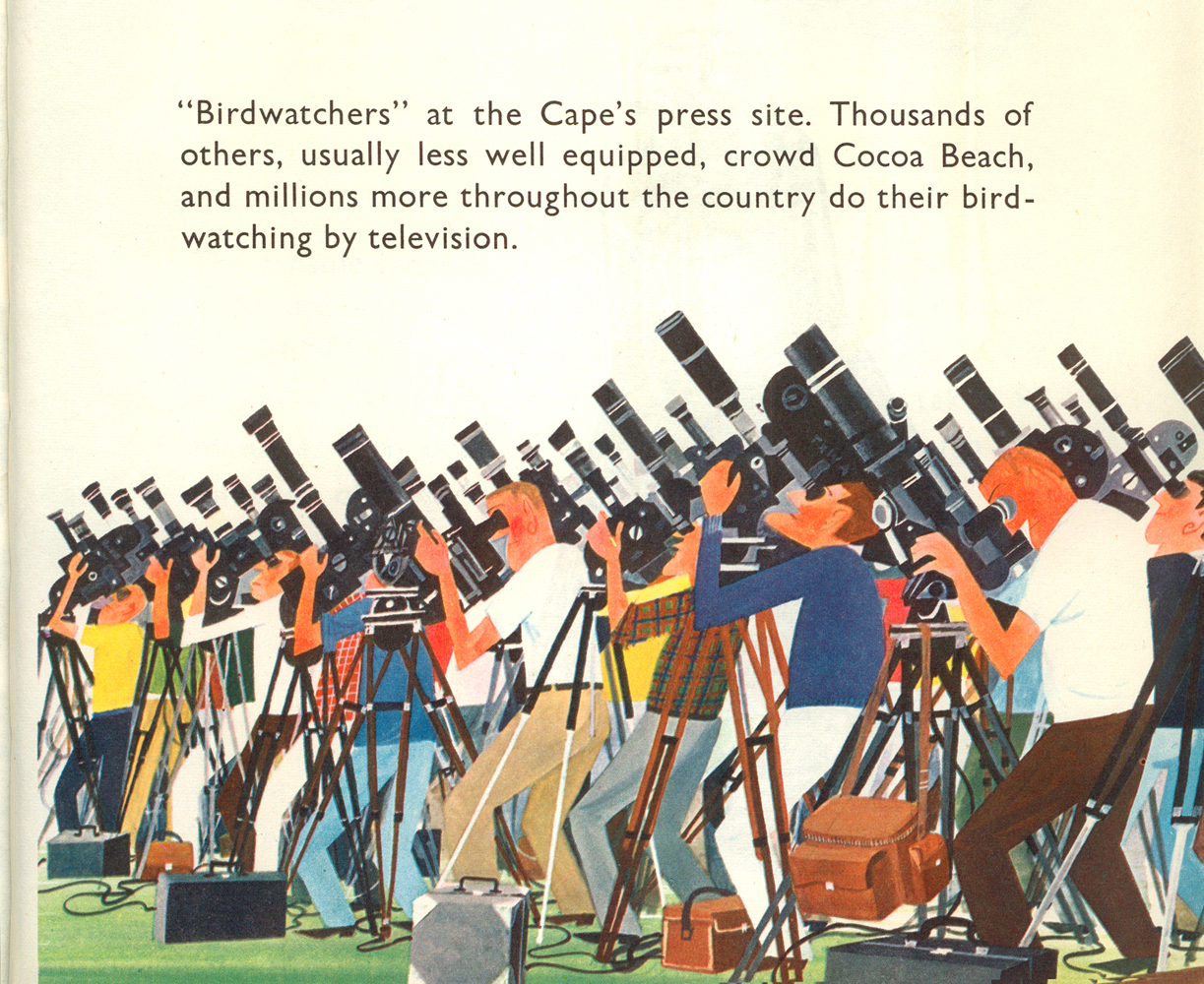 This is Cape Canaveral: birdwatchers