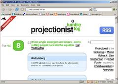 Projectionist: A tumblelog