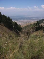 Overlooking Cochabamba