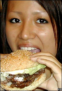 girl with whaleburger