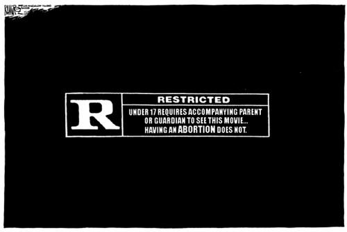 Rated R Symbol