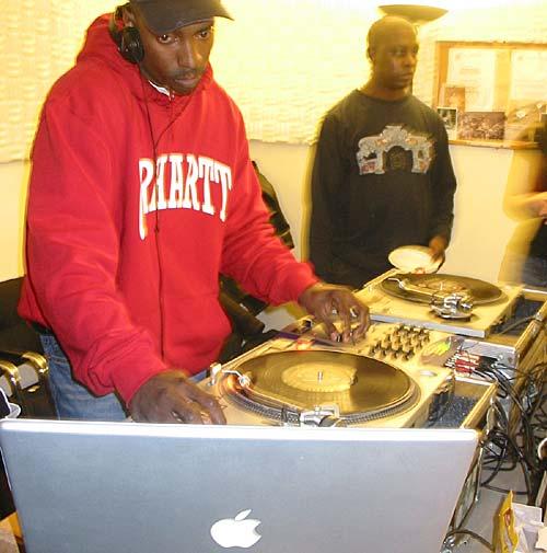 DJ 3D on WBAI