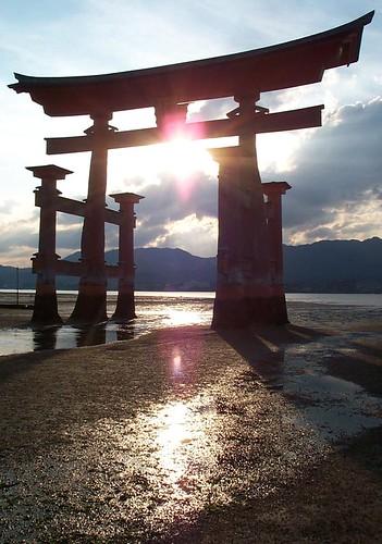 Otorii Gate - Miyajima Island - Japan