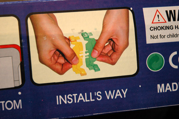 Install's way or no way at all