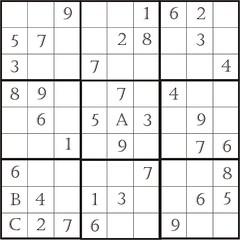 SuDoku技巧1