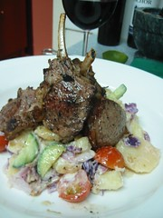 Morroccan Lamb with Spiced Kipfler Potato Salad