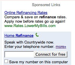 google clik-to-call