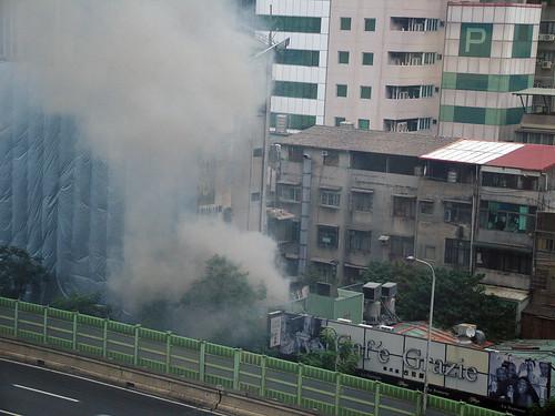 火災現場照片,感謝yoshigi提供。