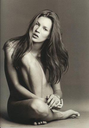 Kate Moss en bragas