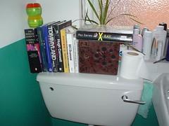 Books in loo