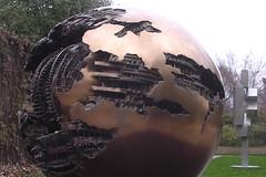 Sphere, No. 6 by Arnaldo Pomodoro