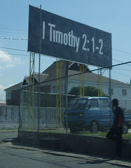 Scripture billboard