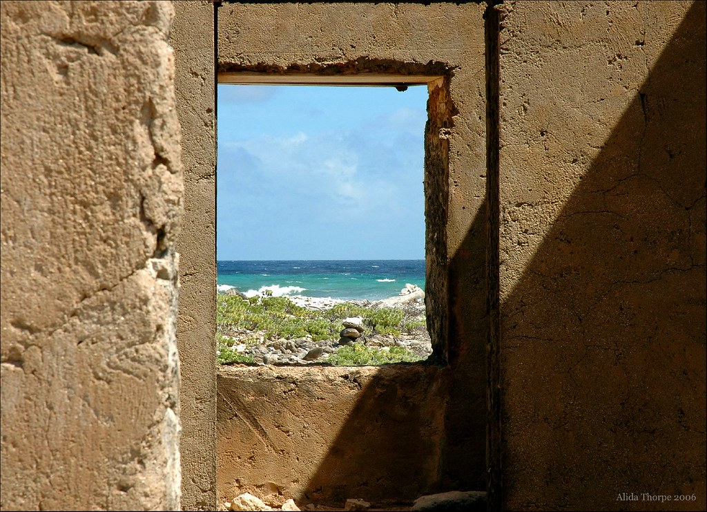 through the caribbean window