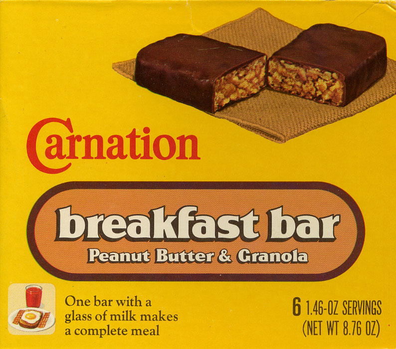 Carnation Breakfast Bars