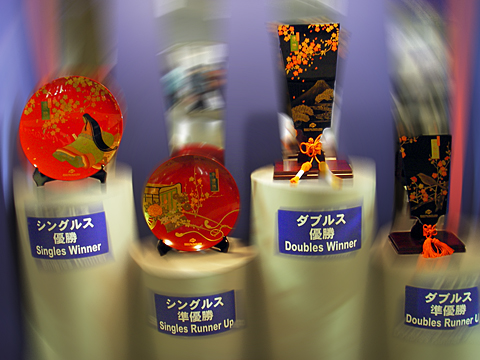 TORAY PPO 2006 trophies