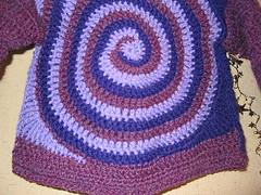 Child's Spiral Cardigan