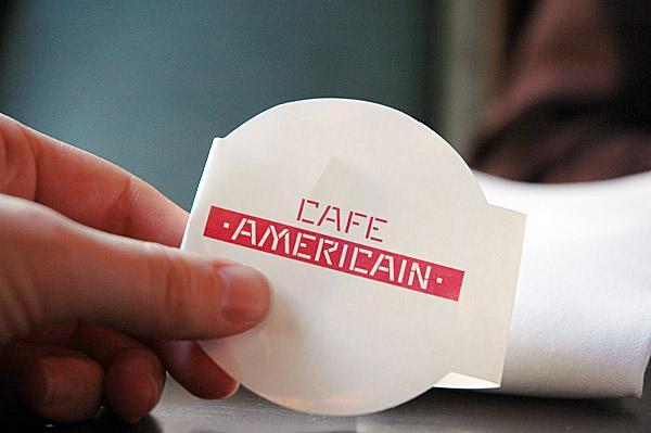 cafe americain