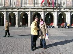 Gil e Kika em Madrid