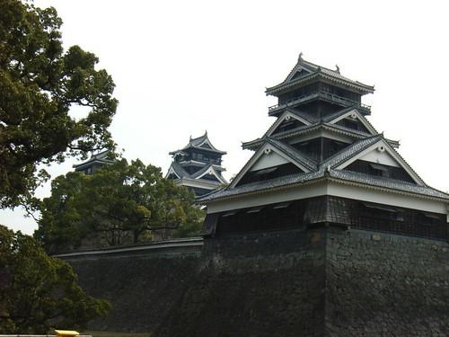Kumamoto-castle.