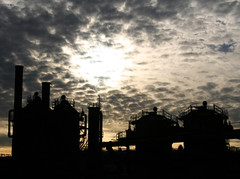 Gas Works Silhouette