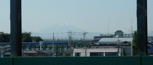 On a way to Tokyo: do u see Fuji-san?