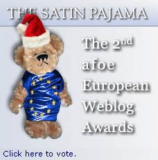 European Weblog Awards - Please vote in the Best UK Blog category