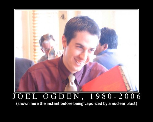 Joel Ogden, 1980-2006