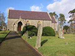 Eglwys Garmon Sant, Saint Harmon, Powys