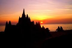 sandcastle photo by totomai
