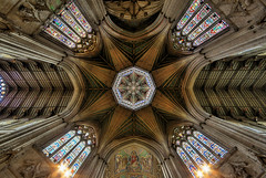 The Central Crossing And Octagon Tower - Ely Cathedral - Cambridgeshire photo by nick.garrod