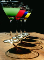 Colored drink photo by Francesca D'Agostino